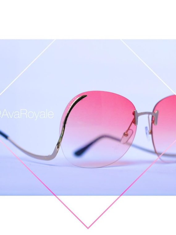 Rose Gold vintage sunglasses